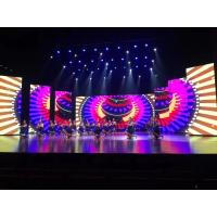 Buy cheap P3.91 P4.81 indoor rental stage background led display big screen wall product