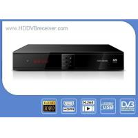 China H.264 DVB Combo Receiver Digital TV Decoder Box / DVB S2 Satellite Receiver on sale