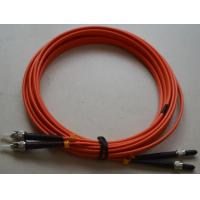 SMA to ST SM Simplex Fiber Optic Patch Cord with LSZH MM Fiber Cable
