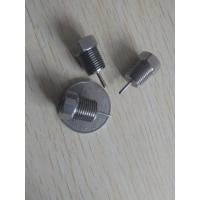 Buy cheap Thermostat stainless steel contacts,Processing custom all kinds of mechanical parts, and mechanical processing parts product
