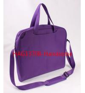 China Purple color briefcase promotion shoulder bags-HAG13708 on sale
