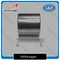 China Zinc Zn Coating N52 ARC 1 Inch Neo Neodymium Earth Magnets For Motor on sale