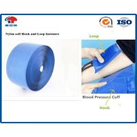 Buy cheap 100mm Nylon Hook Loop Fastener , Blue Soft heavy duty hook and loop product