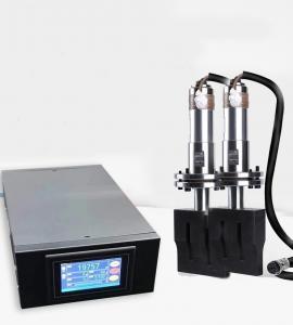 Buy cheap 20KHz 15KHz Ultrasonic Transducer Generator , Mold Plastic Sheet Welding Machine 2000W product