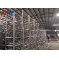 Buy cheap Big Outdoor Aluminum Light Truss System 400mm*400mm Size For Wedding Party product