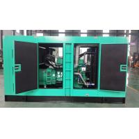 Quality Cummins generator  100KW  diesel generator set   with soundproof container   factory price for sale