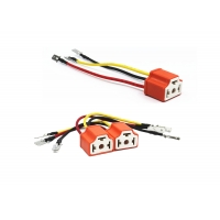 Buy cheap Three Plug Base 1600mm New Energy Vehicle Wiring Harness product
