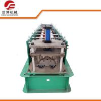 Buy cheap 280 Model Galvanized Ridge Cap Cold Roll Forming Machine For Roof Panel product