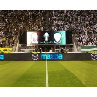 Buy cheap PH25mm 600 W / sqm Perimeter Advertising Stadium LED Screens for Football Court product