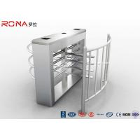 Buy cheap CE Approved Flap Barrier Gate Turnstile With Entry Systems DC 24V Brush Motor product