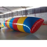 Buy cheap Interesting Inflatable Water Toys , Inflatable Water Blob Pillow For Adults product