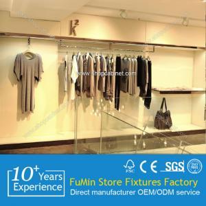 China round rotating clothes rack metal garment shelf on sale