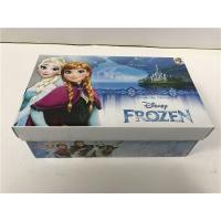Buy cheap Foam Inside Colored Shoe Boxes , Decorative Shoe Boxes For Girls Shoes CMYK product