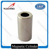 Buy cheap 1/4*1 Inch Cylinder N42 Neodymium Magnet Nickel Plated 5000 Gauss For DC Motor product