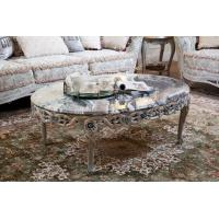 Buy cheap Classic Carved Marble Center Table For Sale FC-103A product