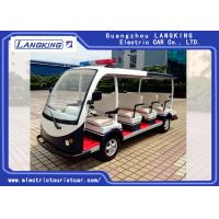 China 11 Seater 72V/5.5KW Electric Patrol Car Utility Electric Vehicle With Big Light On Top on sale