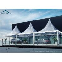 Buy cheap White Marquee Pagoda Shape  Exhibition Event Tents For Conference from Wholesalers