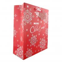 Buy cheap Luxury Christmas Gift Paper Bags with Flower Patterns differnt colors product