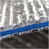Buy cheap Roof Ceilings Aluminum 6.5mm crosslinked closed XPE Foam Foil Insulation Reflective Foam isolation material product