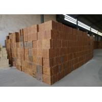Quality Mullite Silica Refractory Bricks Bauxite Chamotte Material Brown Color For Cement Kiln for sale