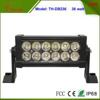 Buy cheap 7.5 inch Low Profile 36W LED Light Bar for Trucks, Double Row Light Bar in classic style product