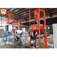 Buy cheap 0.9 - 12mm Pellet Size Floating Fish Feed Machine / Fish Feed Production Plant product