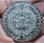 Buy cheap Factory manufacturer Greece maya calendar silver plated coin souvenir product