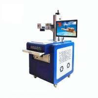 Buy cheap Cold Light Source Glass Engraving Machine For Plastic Crystal UV Laser Marking product