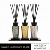 Buy cheap Luxury Room Aromatherapy Reed Diffuser With Black Top Cover , Screen Printing product