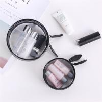 Buy cheap Transparent PVC Cosmetic Bag , Clear Cosmetic Organizer Bag Custom Made product