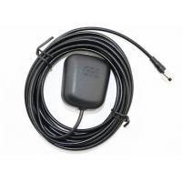 Buy cheap Black GPS Navigation Antenna RG174 3M Cable 1575.42 MHZ For Car product