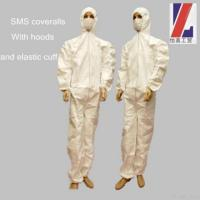Buy cheap Sms Disposable Coverall from wholesalers