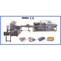 Buy cheap Horizontal Food Flow Pack Machinery Dual Frequency With PVC / BOPP High Speed product