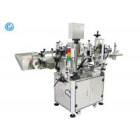 Round Bottle Semi Automatic Labeling Machine For Hot Pepper Sauce Bottle Sticker Labeling Machine
