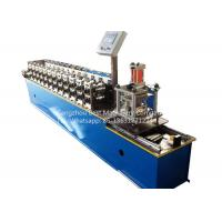 Buy cheap Garage Rolling Shutter Door Frame Roll Forming Machine 1.0'' Chain Driven Type product