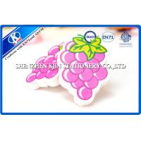 Buy cheap Hot Transfer Printing Purple Grape Fruit Shaped Kids Erasers For Chilldren product