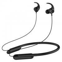 Buy cheap V4.2 Neckband Bluetooth Headphones With Microphone Built In Black Color product