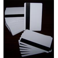 Buy cheap Blank Magnetic Card/Flexible Magnetic Card/Paper Magnetic Card/Blank Magnetic Stripe Cards product
