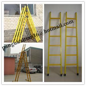 Buy cheap Single step extension FRP ladder,Easy handing fiberglass foldable ladder product