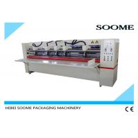 Buy cheap Offline Electrical Thin Blade Slitter Scorer , Corrugated Cardboard Cutting Machine Precreaser product