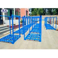 Buy cheap Stackable Tire Racks For Warehouse , Powder Coated Metal Stackable Steel Racks product