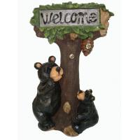 Buy cheap Bear Climbing Tree Welcome Solar Animal Lights , Decorative Solar Garden Lights product