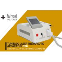 Buy cheap Portable Q Switch Laser Tattoo Removal Equipment With Infrared Ray Indicator product