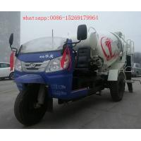 Buy cheap 3 wheel small concrete mixer truck 28-32hp 2m3 concrete mixer trucks product
