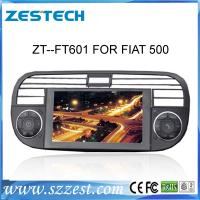 Buy cheap 2013 ZESTECH factory price touch screen for Fiat 500 car dvd gps with 6