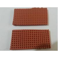 Buy cheap yellow / Red Perforated Silicone Foam Sheet Size 10mm X 0.9m X 1.8m product