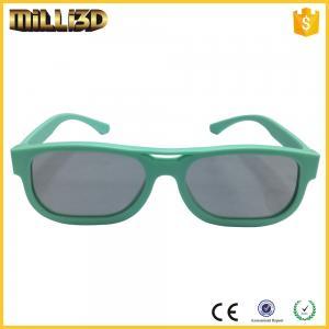 Buy cheap reald cinema circular polarized 3d glasses for cinema beautiful frame product