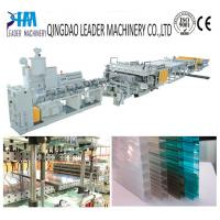 Buy cheap multiwall polycarbonate hollow sheet extrusion line product