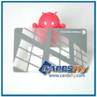 Buy cheap transparent pvc card product