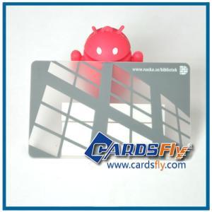 Buy cheap transparent pvc card product